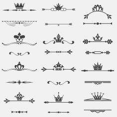 Photo of Nature design elements.