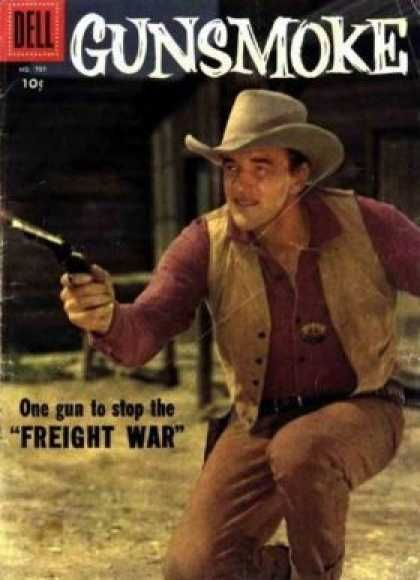 Gunsmoke The Cowboy Shoot Em Up Waiting For The Bad Guy To
