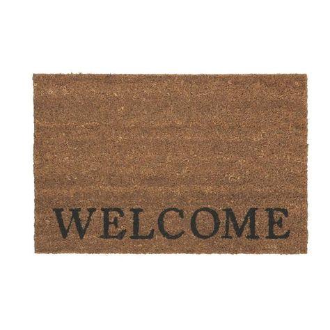 Fussmatte Welcome Ca 40x60cm Fussmatte Schriftzug Familie Und Turvorleger