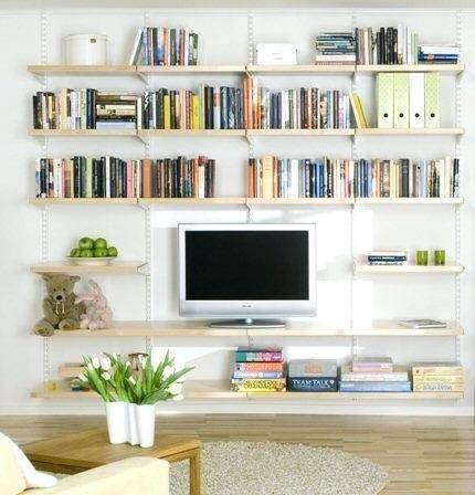 Living Room Bookshelf Ideas Lovable Shelf Living Room Ideas Floating Shelves Living Room For Livi Living Room