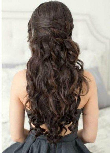 Neuefrisureen Club Locken Fur Lange Haare Haar Styling Lange Hochzeit Frisuren