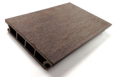 Blooma Nods Brown Composite Decking Board L 240 X W 14 5 Cm Blooma Board Brown Composite Decking L2 Composite Decking Boards Composite Decking Deck Boards