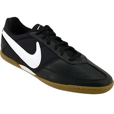 Nike Davinho Indoor Soccer Shoes Mens Black White Soccer Shoes Indoor Soccer Nike