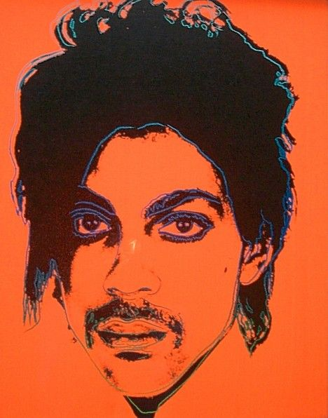 Andy Warhol Portrait Of Prince ~Repinned Via Dick Roodhorst