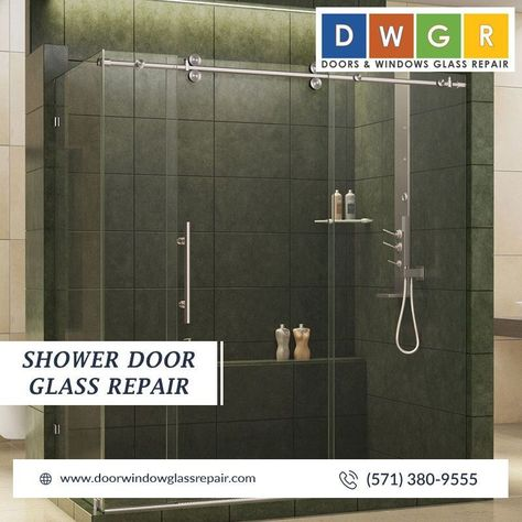 Shower Door Glass Repair Glassrepair Doors And Windows Glass