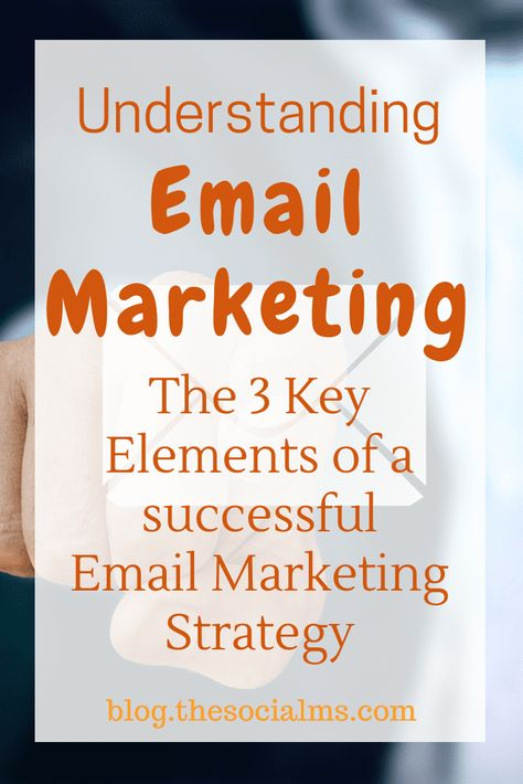 Understanding Email Marketing: The 3 Key Elements
