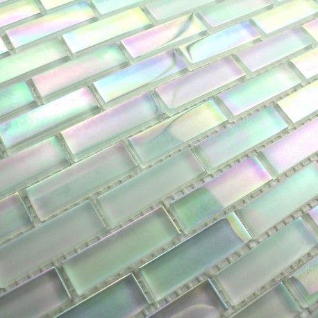 Douche En Mosaique Murano Brick Cuisine Mosaique Carrelage
