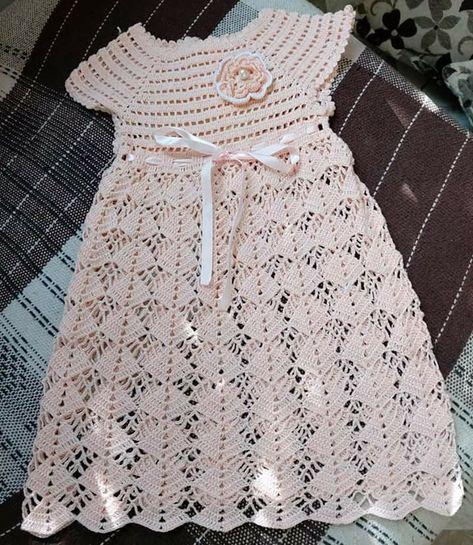 Vestido Infantil Clássico com Manga e Gola RN a 3 anos