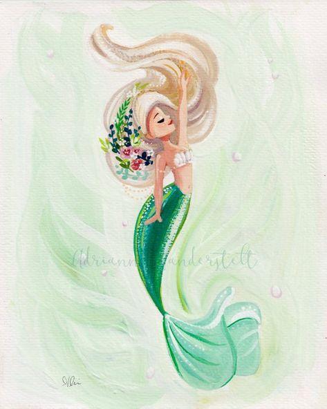 Pin Von Bella Auf Feen Elfen Meerjungfrauen Madchen Meerjungfrau