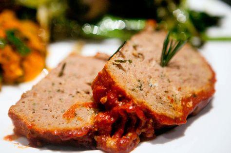 Paleo Rosemary Turkey Meatloaf