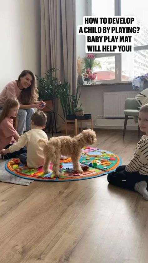 How to develop  a child by playing?  Baby Play mat  will help you!
