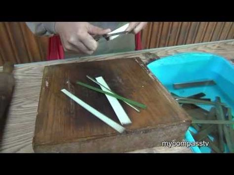 VIDEO (7:29): A wonderful demonstration on the making of papyrus paper. Papyrus is a strong, durable paper-like material produced from the pith of the papyrus plant, and is first known to have been used in ancient Egypt as far back as the First Dynasty.