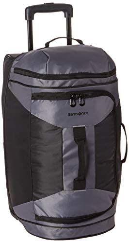 Samsonite Andante 2 Drop Bottom Wheeled Rolling Duffel Bag Riverrock Black 22 Inch Travel Duffels Duffel Duffel Bag Duffel Bag Travel