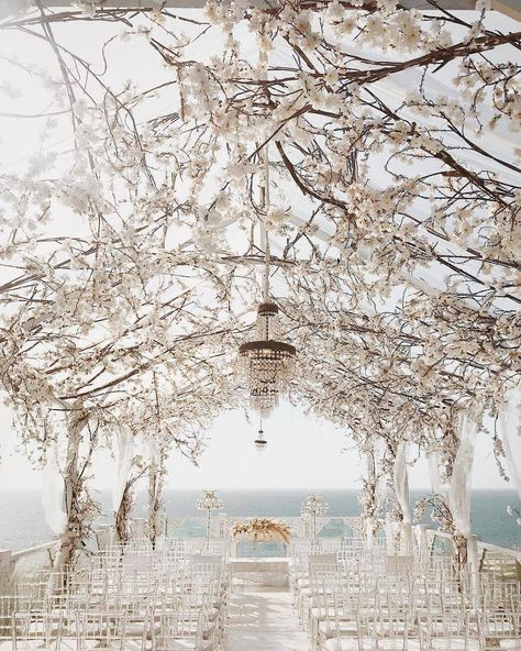 Stunning floral wedding decoration ideas that will give added color and structure to your reception! These 25 unique floral wedding ideas will help you plan your own perfect and stylish wedding venues. Wedding Altars, Wedding Ceremony, Wedding Day, Dream Wedding, Wedding Quotes, Spring Wedding, Luxury Wedding, Diy Wedding, Wedding Favors