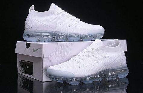 6c40951dc719d Unisex Nike Air Vapormax 2 Bianca-Pure Platinum 942842-100 ...