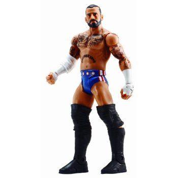 (Kids Makeup Games)WWE Basic Figure Series #33 - Superstar #58 CM Punk Figure #action #games #for #kids