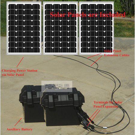 Tektrum Portable 1500w 3000w Peak Powerpack Power Source Station With 1800wh 150ah 50ah 100ah Battery 300w 3x100w Solar Panel Power Up Ac Fridge Plu In 2020 Solar Panels Solar Power Station Solar