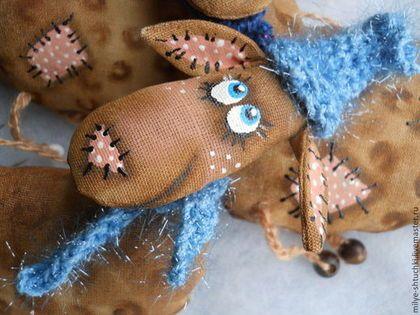 ОВЕЧКИ - новый год,овечка,gjlfhjr,ароматизировання игрушка,улыбка,Тонированная бязь