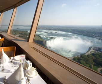 Great Niagara Falls Dining Is At The Skylon Tower2 Restaurants Pleasing Skylon Revolving Dining Room Design Ideas