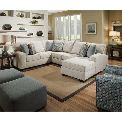 Alcott Hill Henton 119 Left Hand Facing Sectional Wayfair Furniture Living Room Designs Living Room Sets