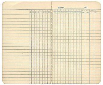 Free Printable Vintage Ledger Paper Scrapbook Background