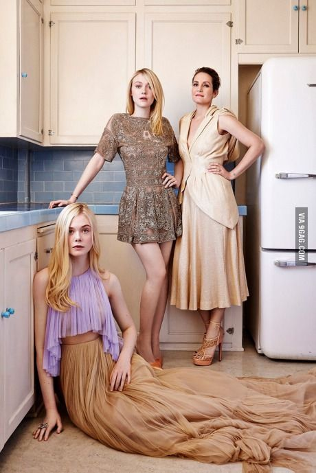 Dakota and Elle Fanning – The Hollywood Reporter Top Stylists 2014