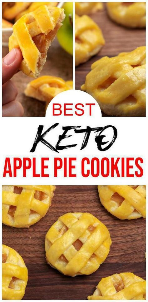 Keto Cookies – Super Yummy Low Carb Keto Apple Pie Cookies – Easy and Best Cookie Recipe For Ketogenic Diet - #apple #cookie #cookies #recipe #super #yummy - #HolidayRecipesChristmasBreakfast