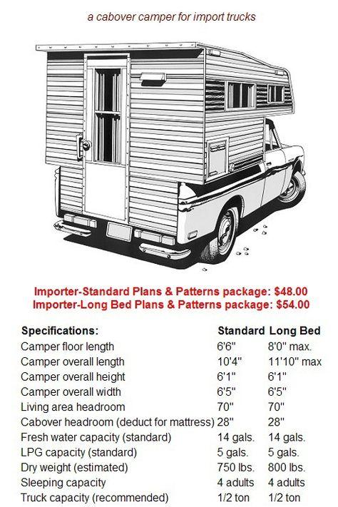 Build Your Own Camper or Trailer! Glen-L RV Plans | Camping ... on
