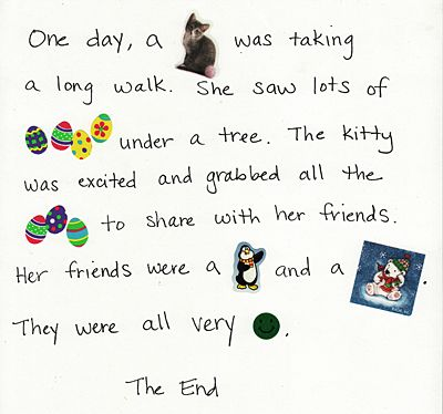 sticker stories- could be a fun travel activity for you and your