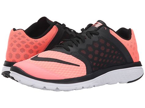 0f1668dd8df Nike FS Lite Run 3 Lava Glow White Black - Zappos.com Free Shipping BOTH  Ways