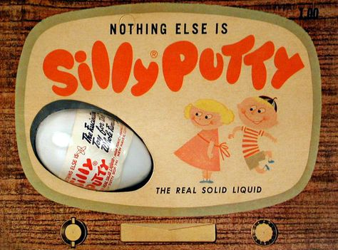Silly Putty: The history of the stretchy, bouncy wonder toy of the 20th century - Click Americana