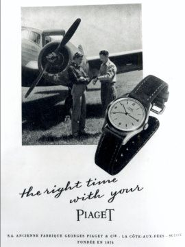 Breweriana, Beer G Publicité Advertising 1957 Les Montres Piaget Other Breweriana