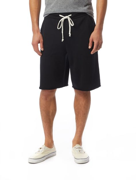 The Getaway French Terry Shorts - Black / M