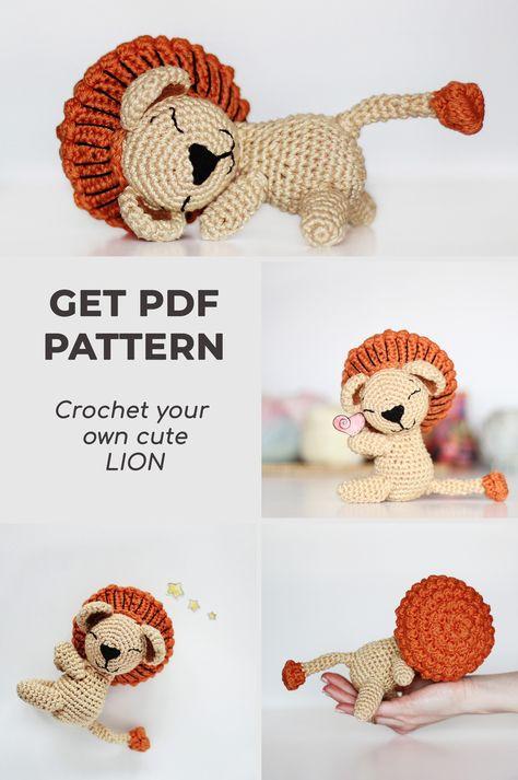 PATTERN Cat crochet Amigurumi tutorial PDF Сrochet amigurumi ... | 713x474