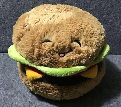 Burger Cheeseburger Plush Collectible Comfort Plush Toy
