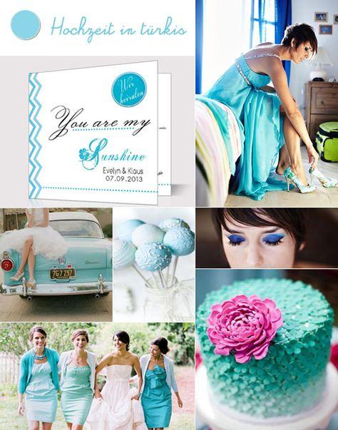 1 hochzeit in tuerkis einladungen zur hochzeit guenstig hell blau welle romantisch Hochzeit in Türkis – die Farbe des blauen Himmels