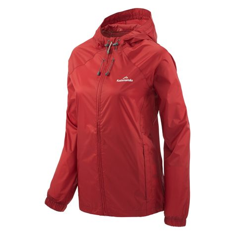 86aa0fac6 Buy Pocket-it Women's Rain Jacket v3 - Claret online at Kathmandu ...