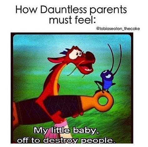 Percy Jackson and Mulan so true. Divergent Jokes, Divergent Fandom, Divergent Insurgent Allegiant, Divergent Series, Insurgent Quotes, Disney Divergent, Divergent Dauntless, Castle Tv, Castle Beckett