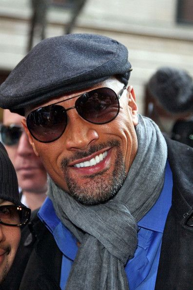 Dwayne Johnson aka The Rock...Do I pin this in people i admire, or my style! lol.. This man is fine!!!