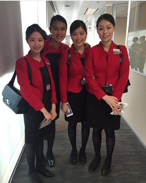 【Hong Kong】Cathay Dragon cabin crew / キャセイドラゴン航空 (國泰港龍航空) 客室乗務員【香港】