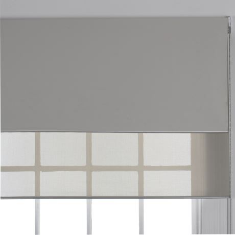 Aurora 150x210cm Set Of 2 Duo Roller Blind Almond 2 Roller Blinds Double Roller Blinds Roller Blinds Bedroom