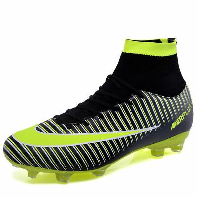 Details About Men S Soccer Shoes Football Sneakers Soccer Cleats Fashion Outdoor Soccer Boots In 2020 Soccer Boots Soccer Shoes Futsal Shoes
