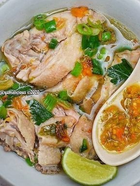 Resep Sup Ayam Nikmat Ala Pak Min Klaten Sup Ayam Resep Sup Resep Masakan