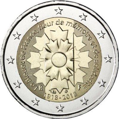Frankreich 2 Euro 2018 Bfr Kornblume In 2020 Mit Bildern Euro Kornblume Frankreich