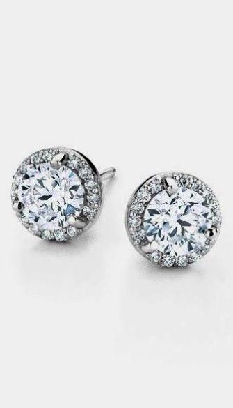 Cool Diamond Ring Settings Types Google Halo Diamond Earrings Diamond Earrings Studs Halo Earrings