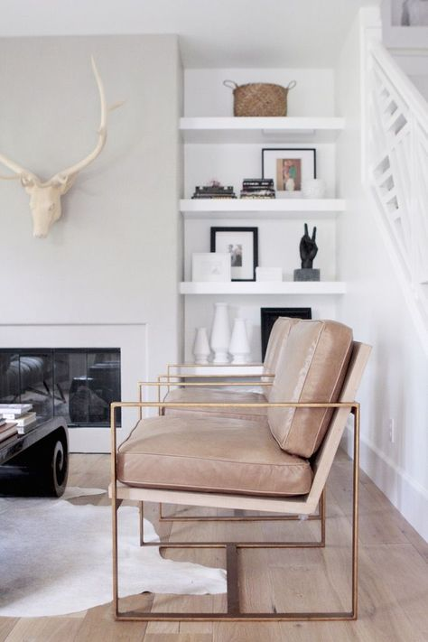 love this accent chair! Living room needs to be bigger! Owens + Davis Blog. Redford House Manhattan Chair from Zinc Door