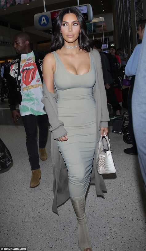 On the move: Jet lag won't keep Kim Kardashian and Kanye West from hopping on yet another flight, this time departing Sunday afternoon from their home turf in Los Angeles to France