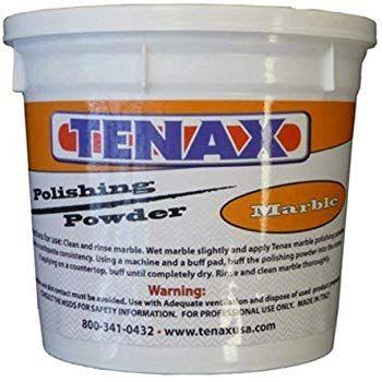 Tenax Marble Polishing Powder 1kg 2lb Container Marble Polishing Marble Container
