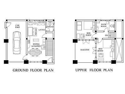 Autocad Drawing File Modern House Building Plan 1462 Sf New Design Plans 2 Story Ebay New Home Designs Modern House Plan House Plans