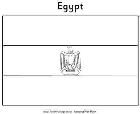 Flag Of Egypt Coloring Pages In 2020 Egypt Flag Flag Coloring Pages Egypt Crafts